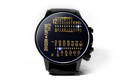 Lancement de la montre Type 50 de Division Furtive