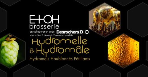 2ième anniversaire, lancement de l'hydromâle et de l'hydromelle