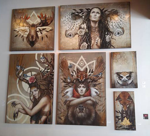 Exposition des oeuvres de Sophie Wilkins